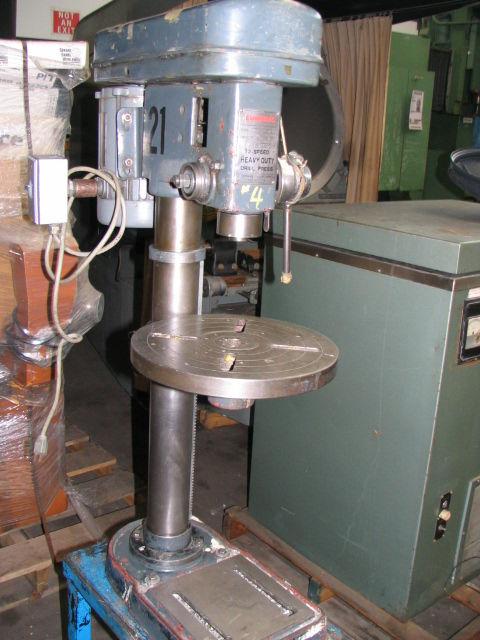 Cummins 12 Speed Drill Press