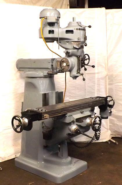 Wells Index 747 Milling Machine