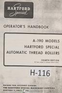 Hartford Milling Machine Manual Pdf