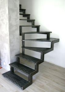 stalowe schody industrialne-