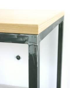 table-steel-wood