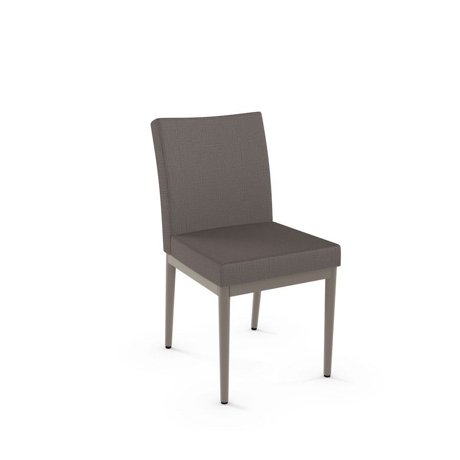 Melrose Cushioned Metal Dining Chair  Cushioned seat and
