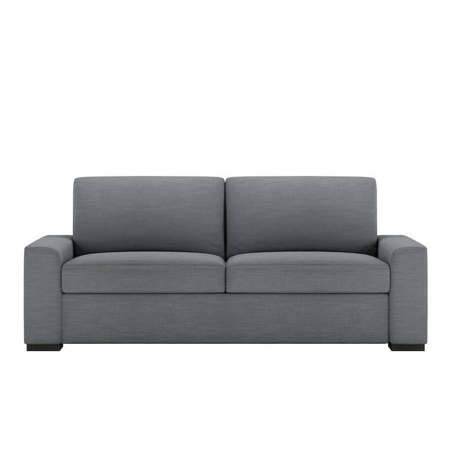 twin sofa bed leather high back fabric corner sofas olson comfort sleeper no bars springs sagging american