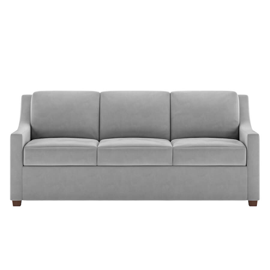 comfortable cheap sleeper sofa teal set perry comfort bed no bars springs sagging closed american leather