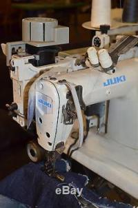 Juki MS-1190 Industrial Sewing Machine with Puller, Motor ...