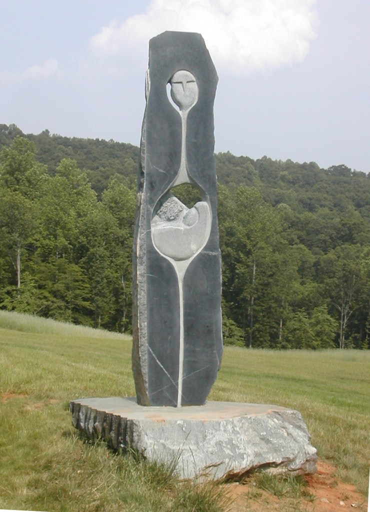 Mother Earth - Soapstone Sculpture