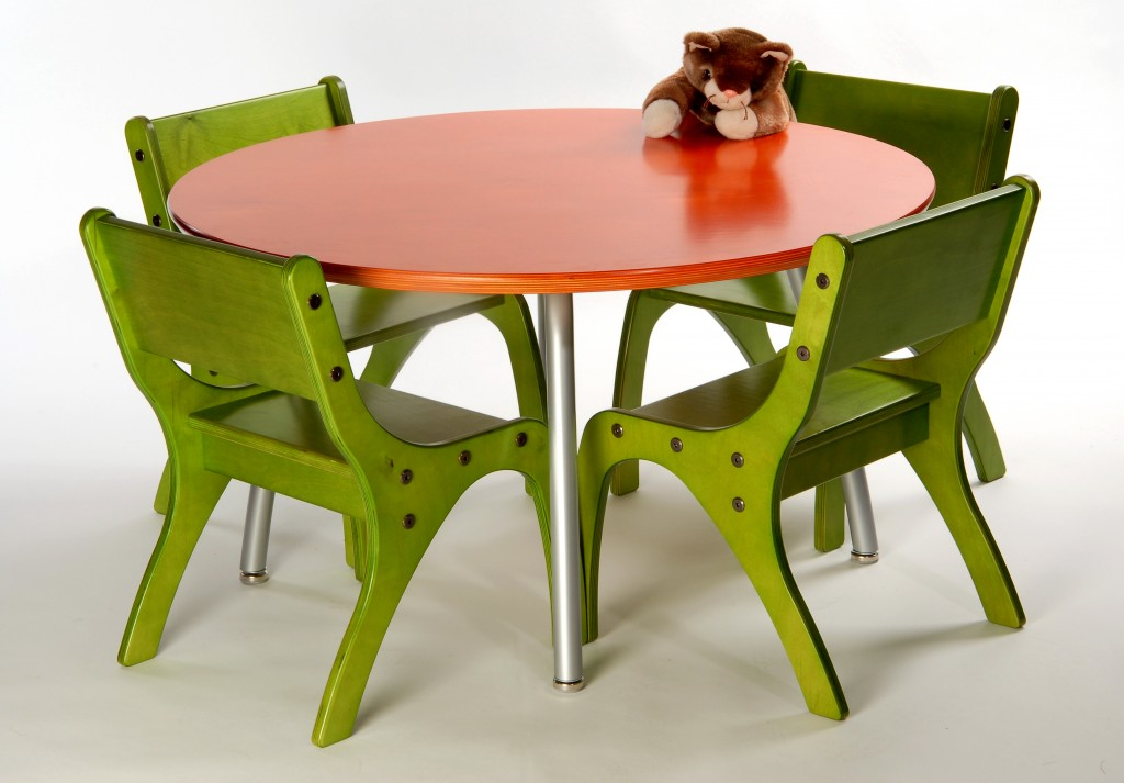 kids table with chairs how to measure a chair for slipcover tables industrial woodworking corporation kidsset4chairs