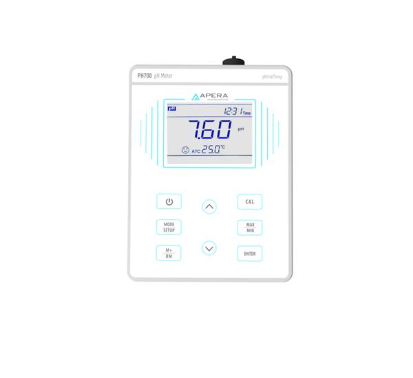 Kit Medidor de Ph De Mesa PH700