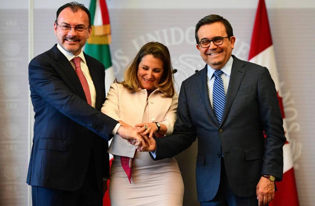"""México y Canadá responden a Trump: """"La esencia del TLC es y seguirá siendo trilateral"""""""