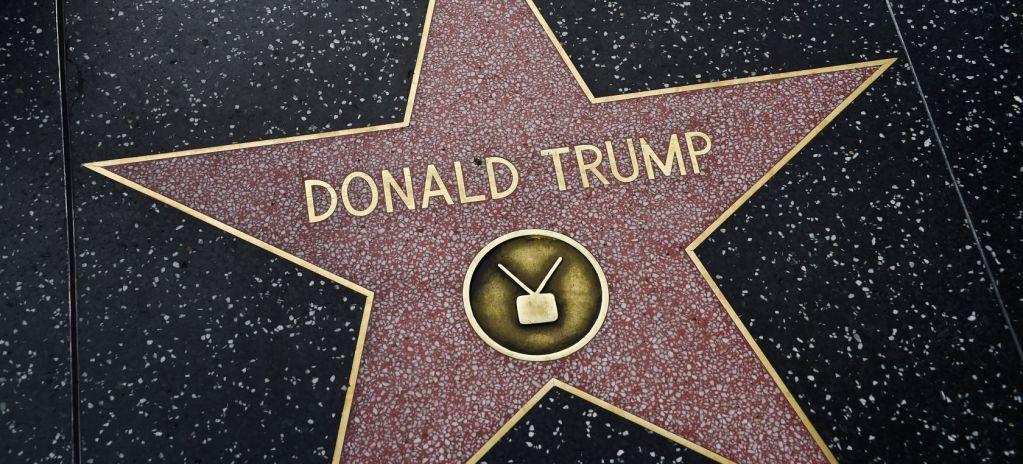 Legisladores luchan por quitar para siempre la estrella de Hollywood de Trump