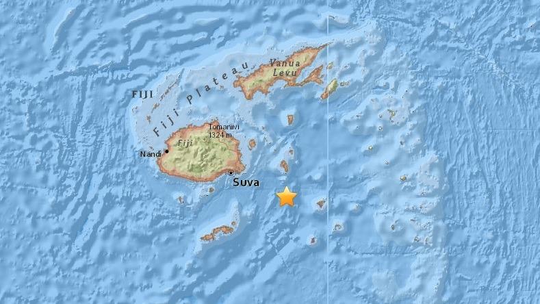 Reportan sismo de 8.1 en Fiji
