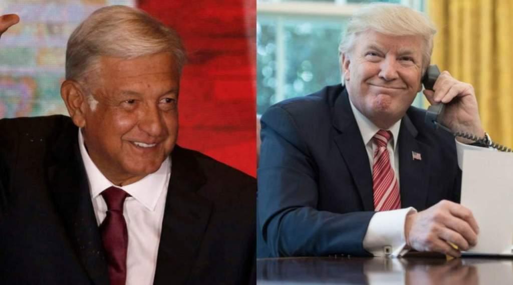 México está pagando el muro, asegura Trump; AMLO rechaza haber hablado del tema