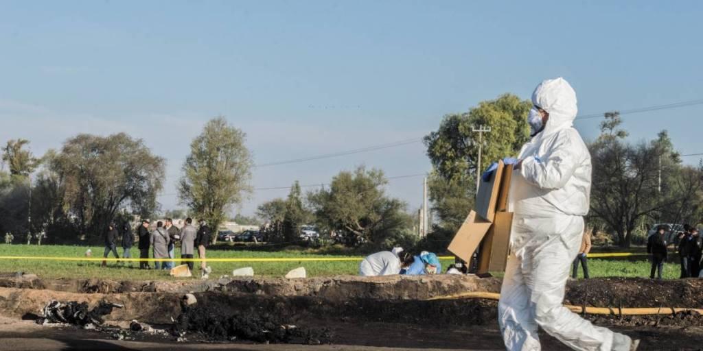 Sube a 89 la cifra de muertos por explosión en Tlahuelilpan, Hidalgo