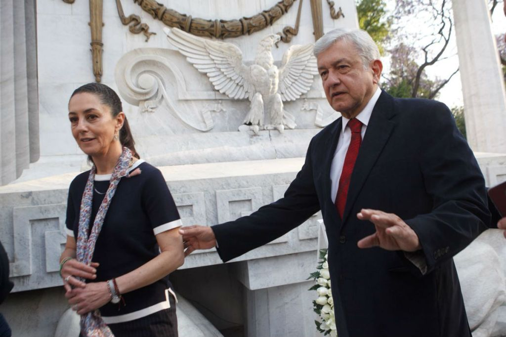 Por emergencia ambiental López Obrador se reúne con Sheinbaum