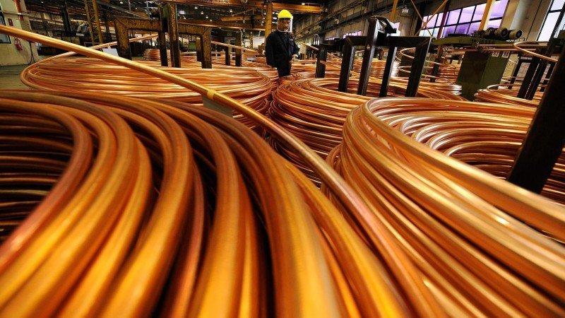 Precio del cobre dispara acciones de GMéxico