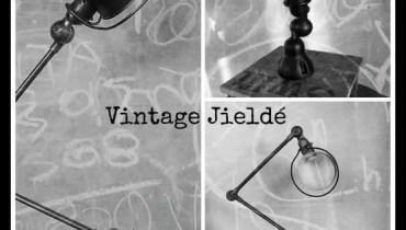 Vintage Jieldé lampen bij BINK