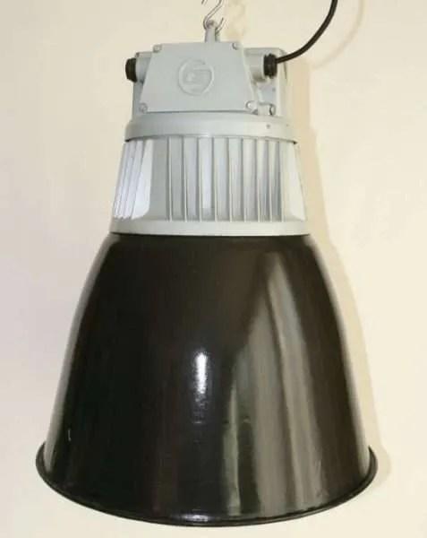 Geemailleerde XL hanglamp