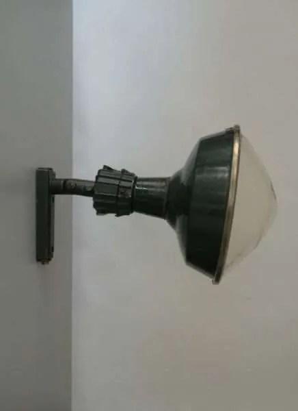 Geëmailleerde stalen lamp XL