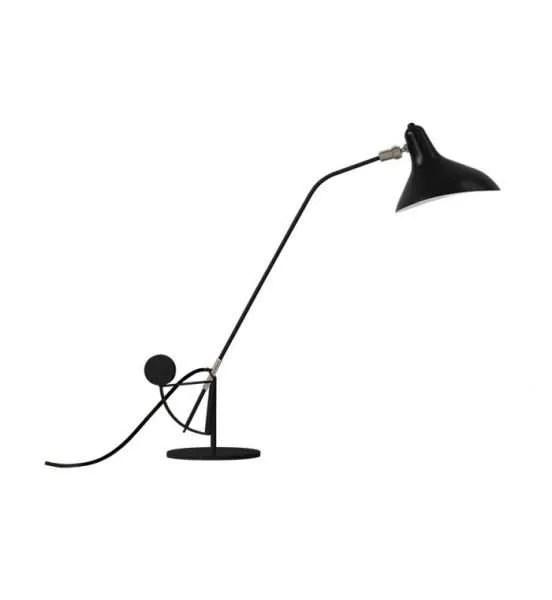 Mantis BS3 bureaulamp Zwart-satijn