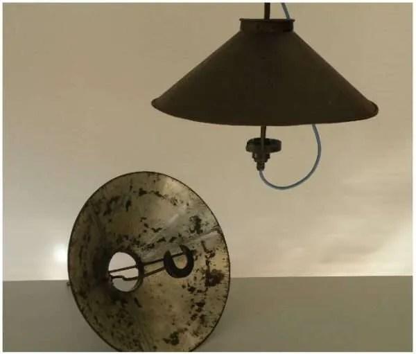 Stallamp uit frankrijk 2 stuks 1