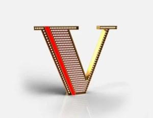 delightfull letterlamp v