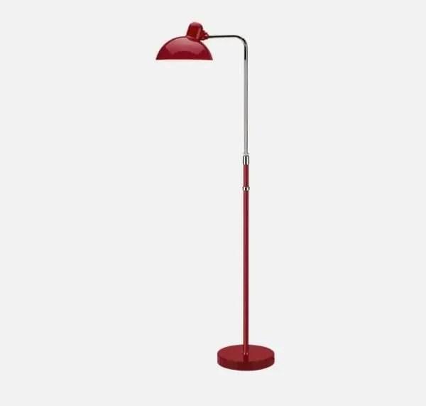 kaiser idell vloerlamp rood