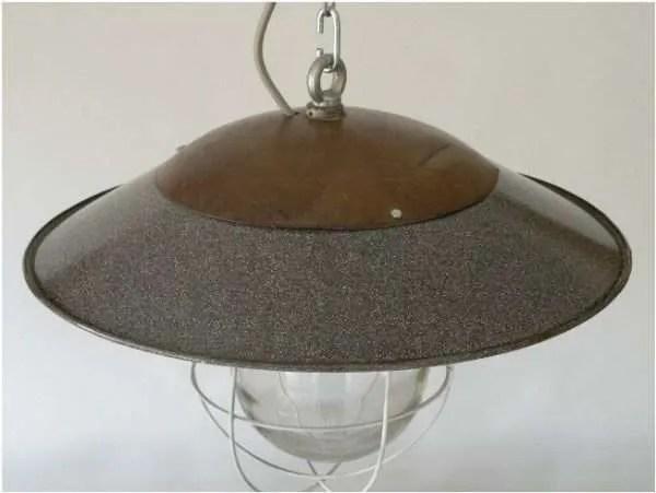 kooilamp met stolp top