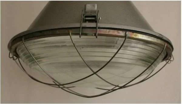stalen hanglamp XL bol glas