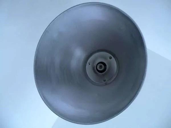 stalen hanglamp xl binnenkant kap