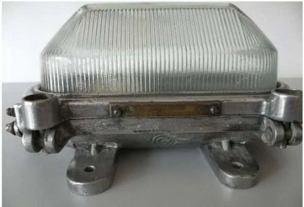 Aluminium bunkerlamp 3