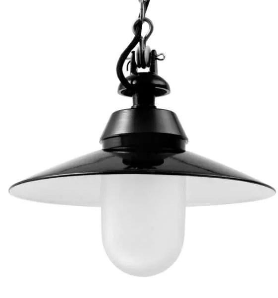 Bremen mat glas stolplamp klein detail
