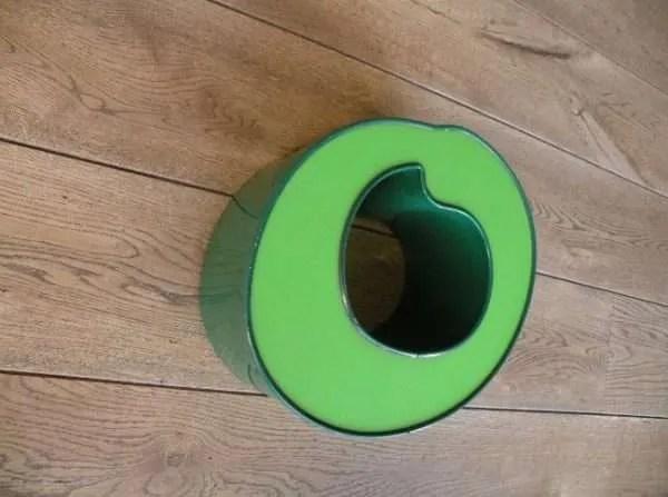 letterlamp groen 0 2