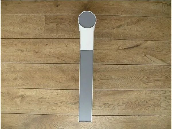 letterlamp wit met grijs i 1