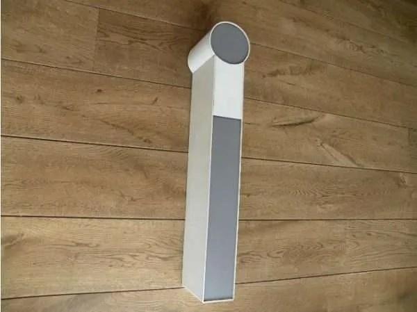 letterlamp wit met grijs i zijkant 2