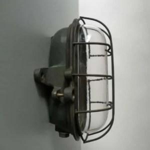 stalen grijze bunkerlamp 1