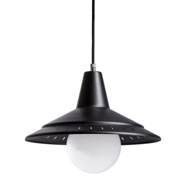 De modernist Anvia retro hanglamp BINK lampen zwart