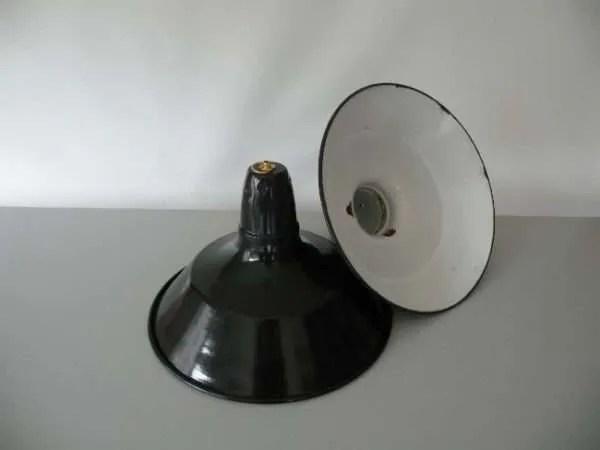 Geemailleerde hanglamp blauw s 3