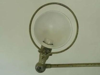 Jielde loft wandlamp detail kap