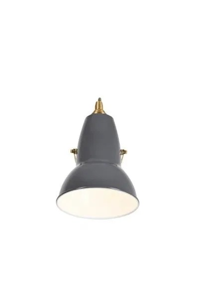 Original 1227 messing wandlamp Elephant Grey 3