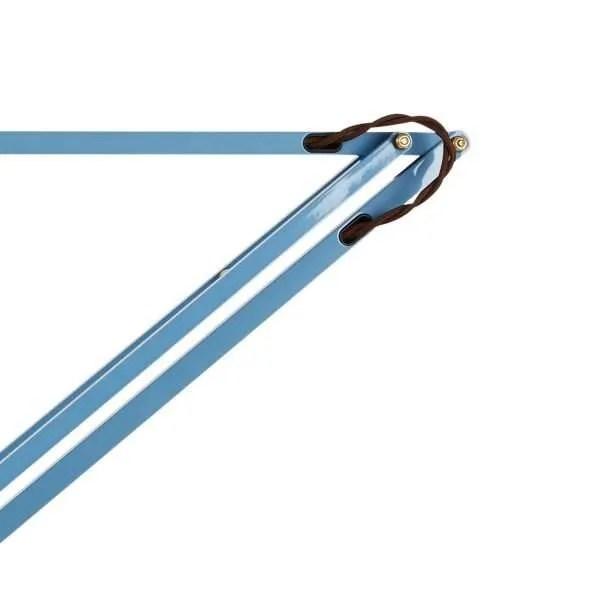 Original 1227 messing wandlamp anglepoise Dusty Blue 4