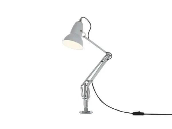 Original 1227 bureaulamp grijs met vaste voet 3