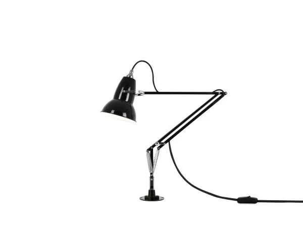 Original 1227 bureaulamp zwart met vaste voet 1
