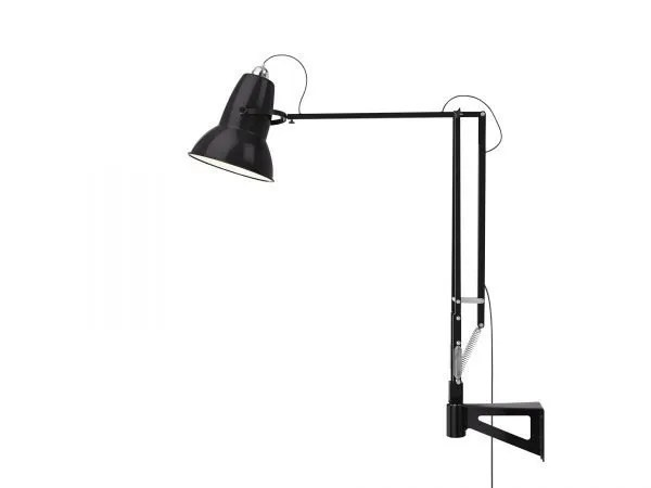 Original 1227 Giant Wall Mounted Lamp Jet Black 4 (Gloss)