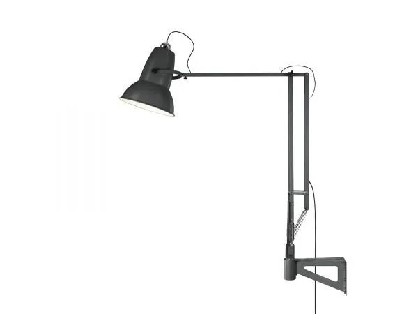 Original 1227 Giant Wall Mounted Lamp Slate Grey 4