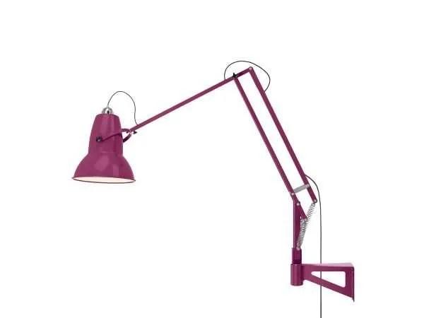Original 1227 Giant Wall Mounted Lamp Vibrant Magenta 5