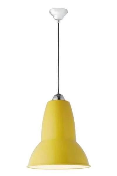 Original 1227 Gigant anglepoise hanglamp Citrus Yellow