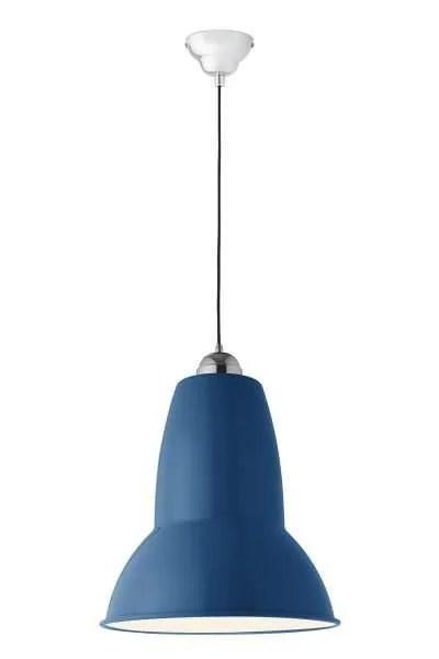 Original 1227 Gigant anglepoise hanglamp Marine Blue