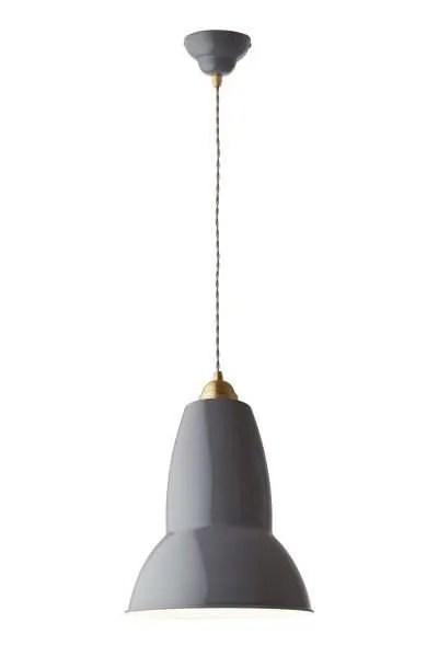 Original 1227 Messing Anglepoise XL Hanglamp - Elephant Grey 1