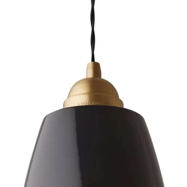 Original 1227 Messing Anglepoise xl hanglamp - Deep Slate 2