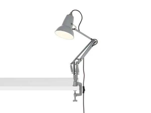 Original 1227 Mini bureau klemlamp Dove Grey 3